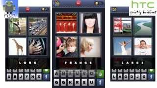 4 Images 1 Mot - niveau 1 à 107 - Apple & Android - Solutions Facile et rapide à voir