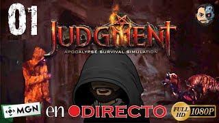 EL JUICIO FINAL en DIRECTO #01 - Judgment: Apocalypse Survival Simulation - Gameplay Español