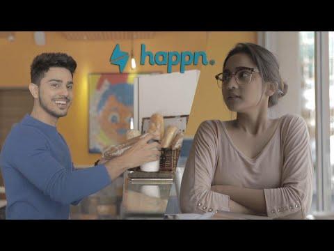 Happn ( Dating App) - Ashi Singh & Sunny Chopra