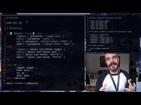 Let's Shell Script Together: Case Statements, Audio Control And More