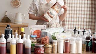 살림 초보를 위한 양념장 냉장, 냉동 보관법 / 냉장고…