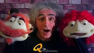 How to Make Foam Hand Puppets - Sünger El Kuklası (Easy & Simple) DIY - QPerformans