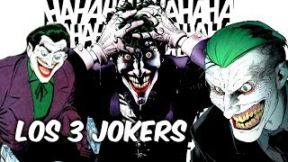 "!REVELADO! ESTOS SON LOS 3 JOKERS DE DC COMICS ""3 JOKERS""  @SoyComicstj"