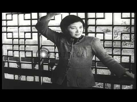 The Koreans vote in Communist elections in North Korea during Soviet occupation a...HD Stock Footage