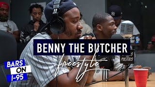 benny the butcher bars on i 95 freestyles on bars on i 95