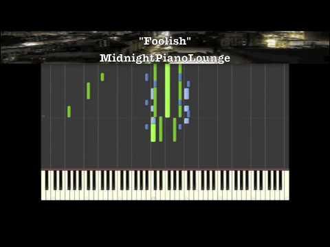 ♫ Ashanti - Foolish Piano Tutorial In F Minor ♫ - YouTube