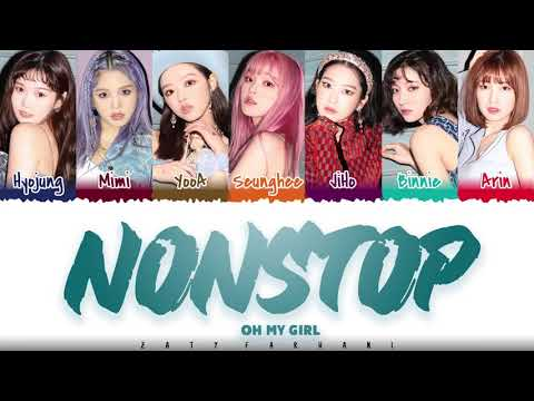 OH MY GIRL  – &39;NONSTOP&39; 살짝 설렜어  Color CodedHanRomEng