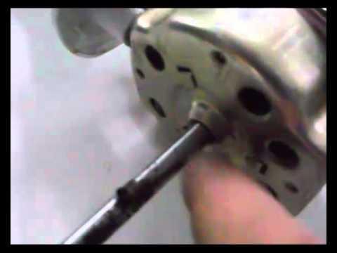 Ventilador de pie, reparación (2)