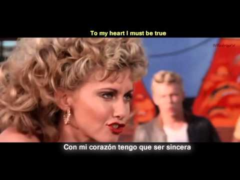 Grease  Youre the one that I want Lyrics y Subtitulos en Español