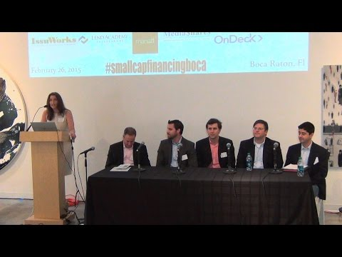 Boca Raton - Dara Albright Keynote & MarketPlace Lending Panel