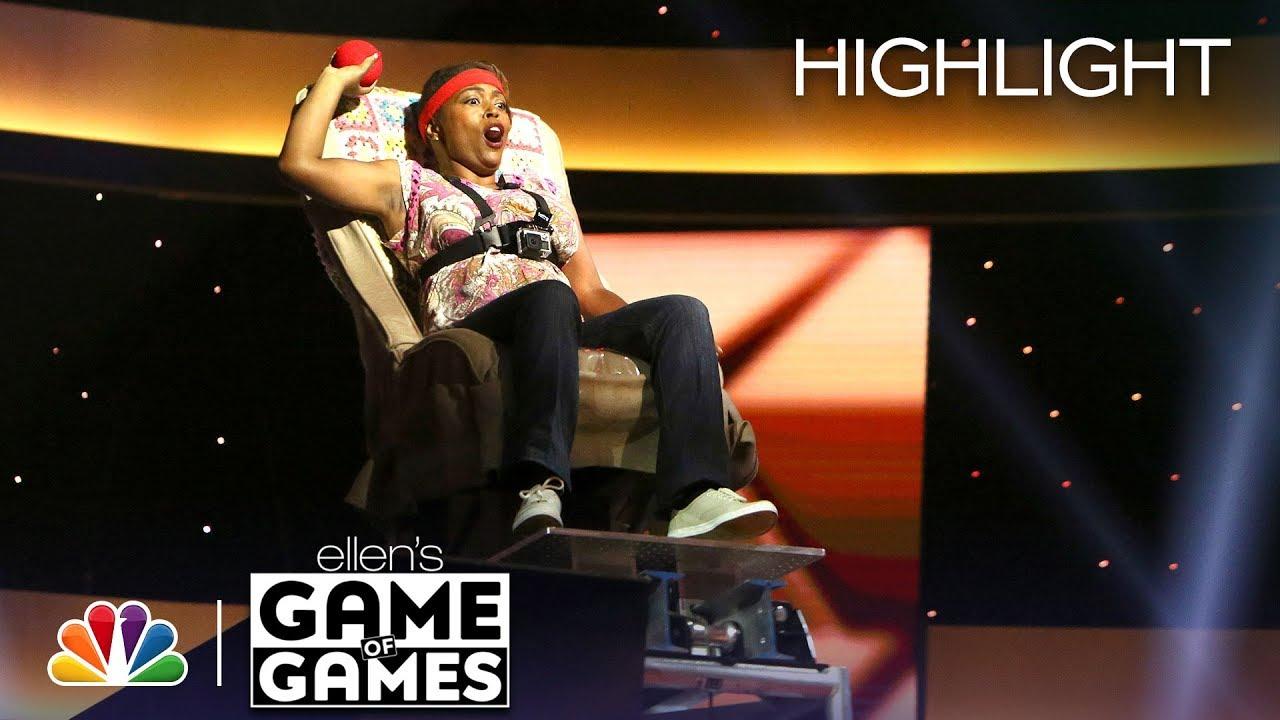 Download Ellen's Game of Games - In Your Face, Honey: Episode 6 (Highlight)