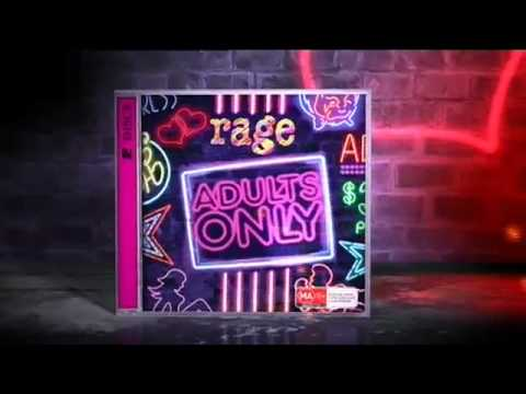 Rage Adults Only CD and DVD
