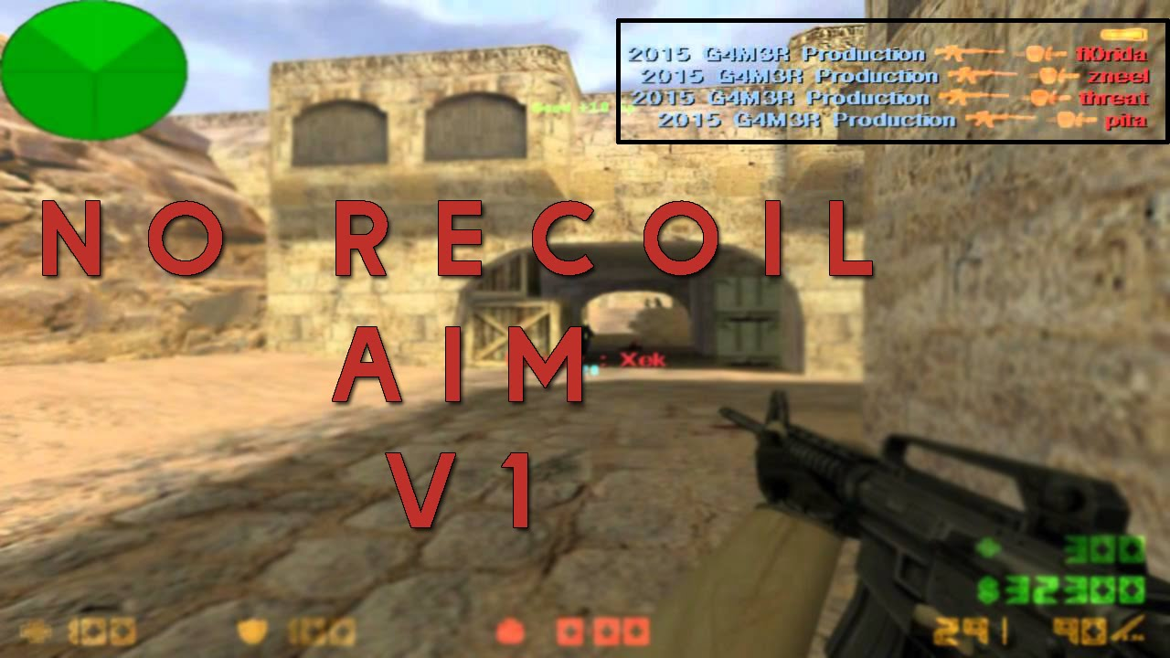 CS 1 6 [•NO RECOIL/AIM CFG V1•] 2016 NEW ^ DOWNLOAD LINK