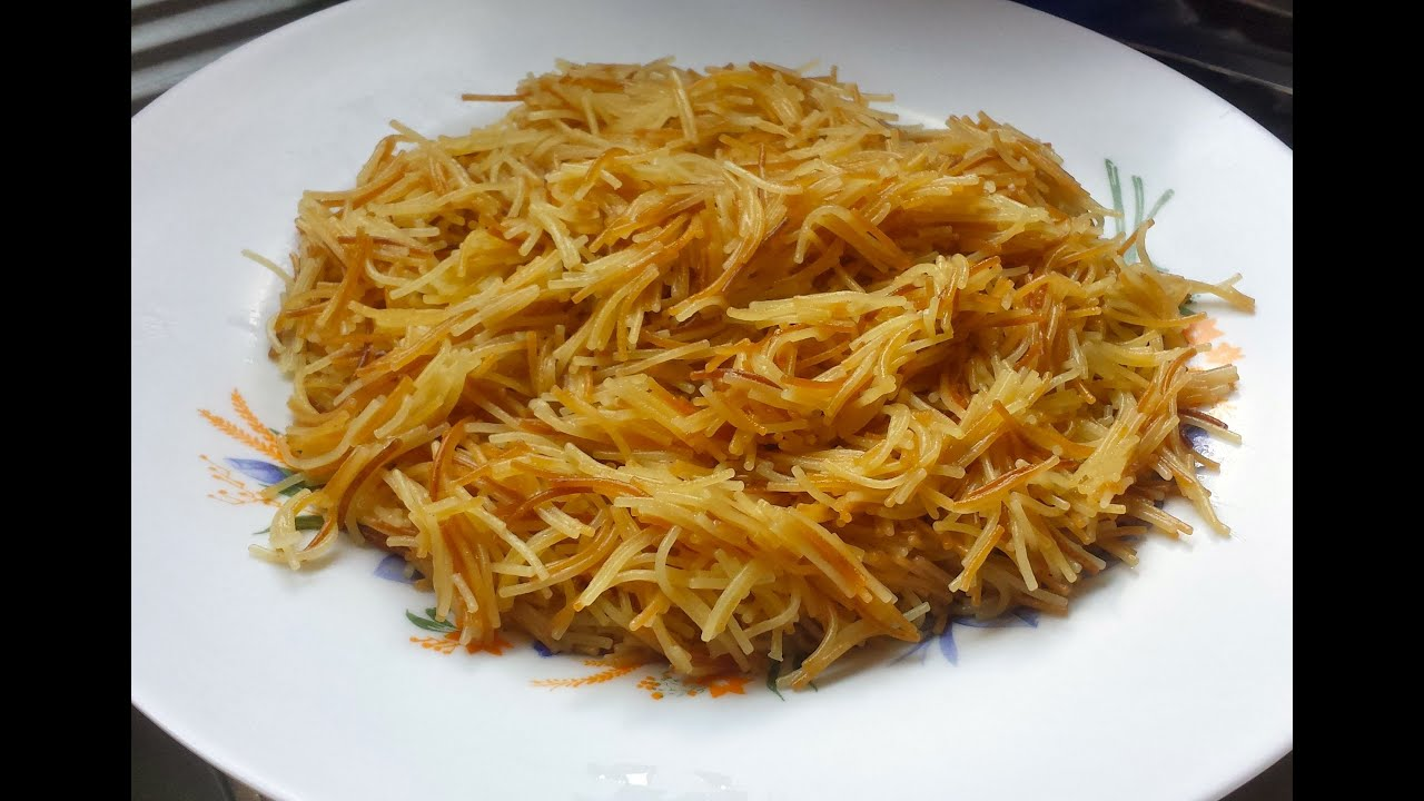 Fried Sweet Vermicelli/Sheria - SS Cooking - Episode 12 - YouTube