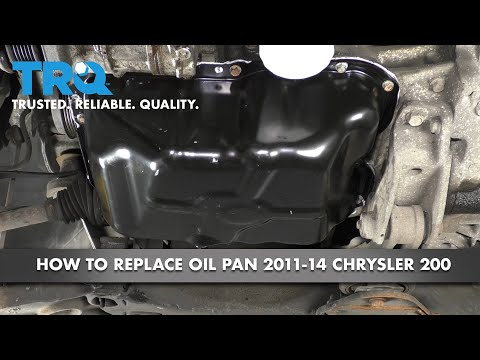 How to Replace Oil Pan 11-14 Chrysler 200