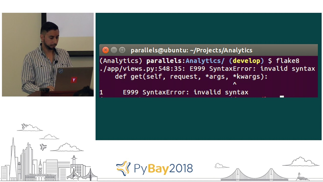 Image from Tools to Manage Large Python Codebases | Fabio Fleitas @ PyBay2018