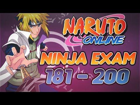 Naruto Online | Ninja Exam 181-200 ~ Hokage Minato Rampage