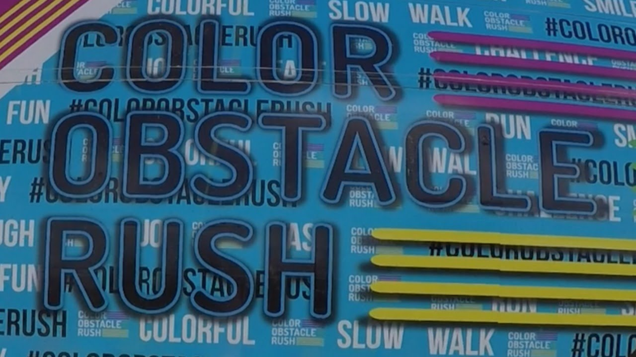 color obstacle rush uk 2015 youtube