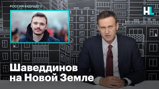 Навальный: сотрудника ФБК Руслана Шаведдинова увезли служить на Новую Землю