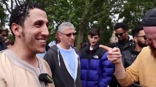 P1 Was God Right To Do It? Shamsi Vs Jewish Hyde Park Speakers Corner