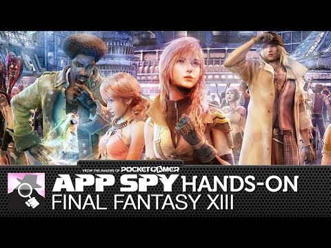 Final Fantasy XIII | iOS iPhone / iPad Hands-On - AppSpy.com