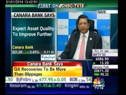 See asset quality, NIMs improving in Q4: Canara Bank