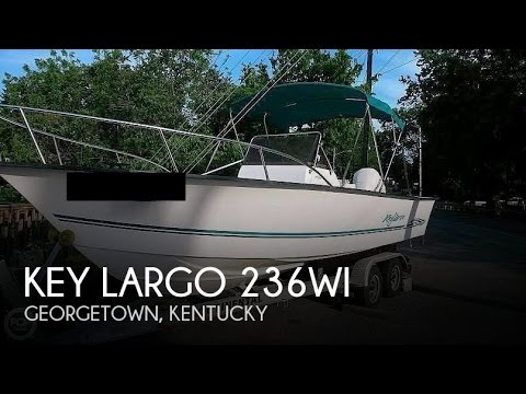 [UNAVAILABLE] Used 2002 Key Largo 236WI in Georgetown, Kentucky