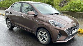 Hyundai Aura Diesel Automatic - Slow But Convenient   Faisal Khan