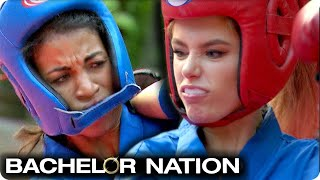 Demi Takes A Hit To The Face In Vietnam Martial Arts Date   The Bachelor US