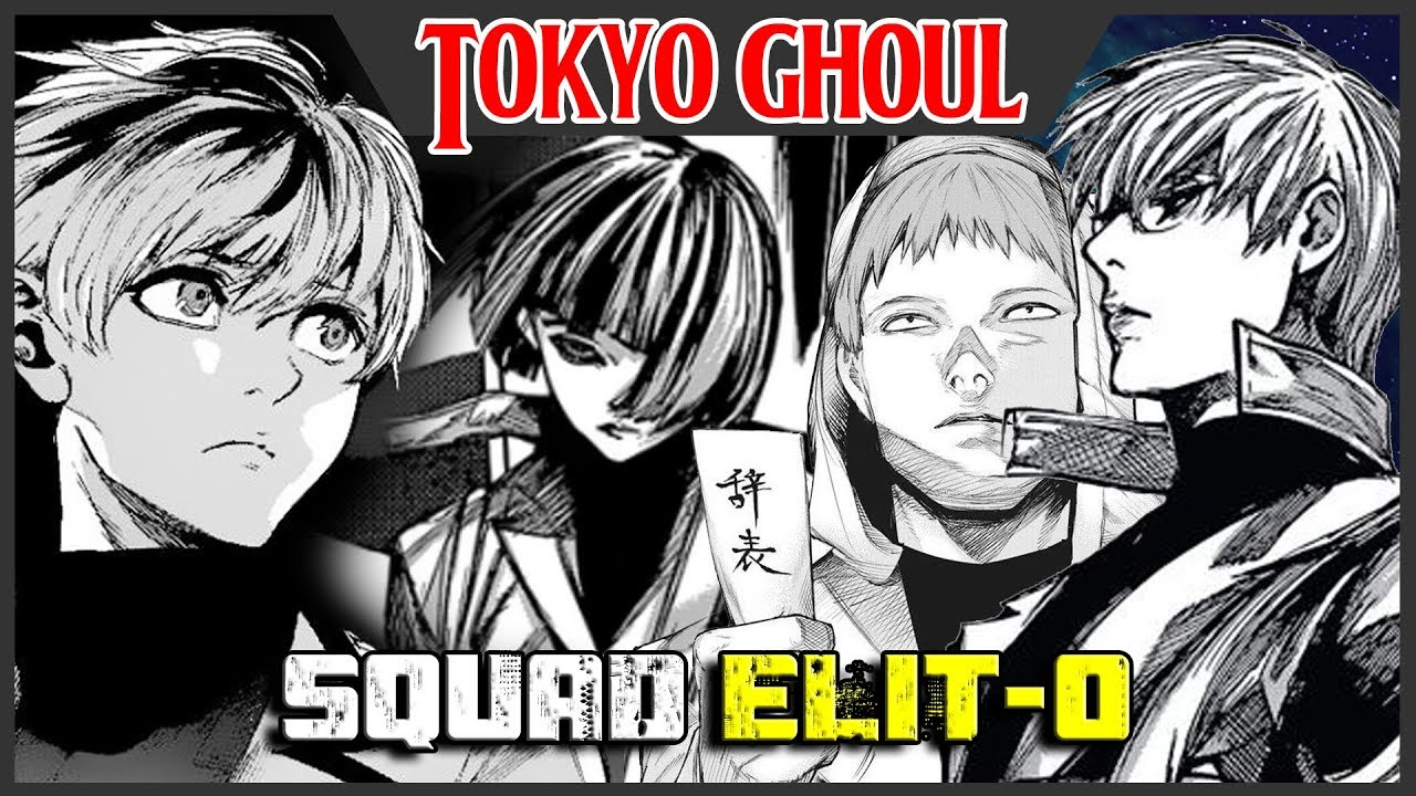 Squad Zero Members Tokyo Ghoul Indo