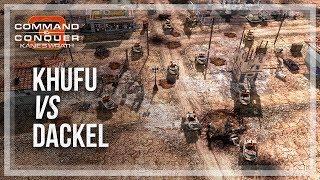 [C&C3: Kane's Wrath] IamKhufu(Nod) vs d.Dackel(ST) - HoF