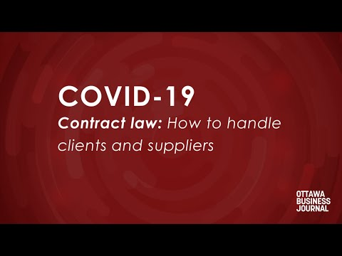 Coping with COVID-19: Are business contracts enforceable in a crisis