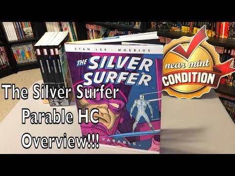 silver-surfer:-parable-30th-anniversary-oversized-edition-overview!