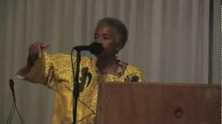 Dr. Marimba Ani Speaks in Atlanta on Oct. 28. 2012