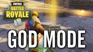 Fortnite - Tilted Towers Underground God Mode Glitch
