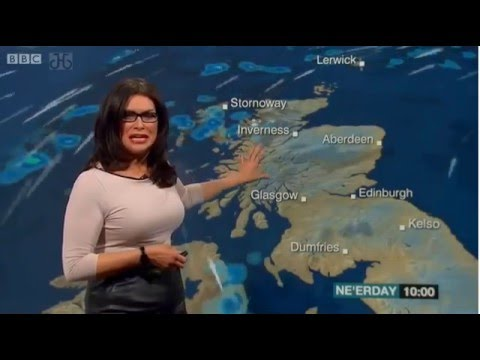 Judith Ralston Reporting Scotland Weather 31/12/15
