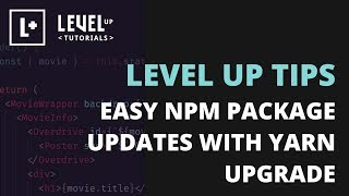 Easy NPM Package Updates with Yarn Upgrade Interactive