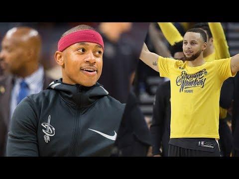 Isaiah Thomas BLAMES Steph Curry For His Son's Basketball Antics