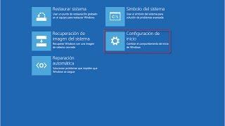 🖥 Cómo acceder fácil al modo seguro en Windows 8.1 o 10