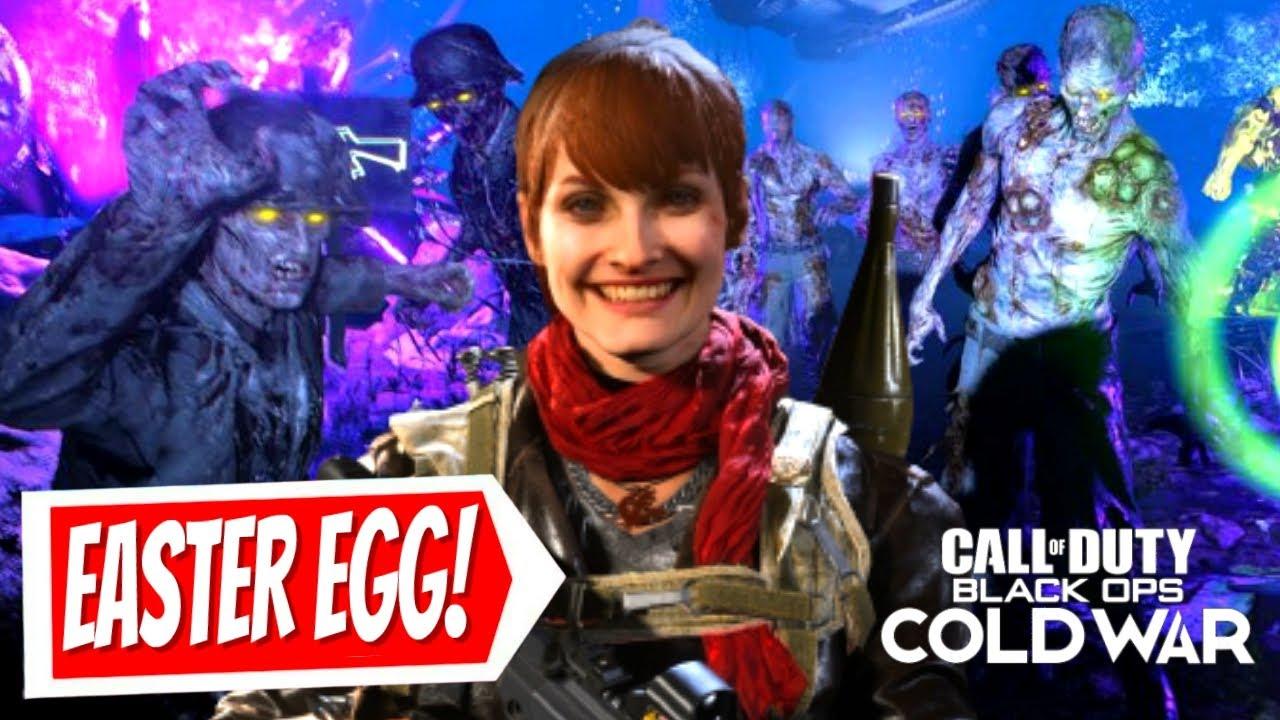 🔴 COLD WAR ZOMBIES EASTER EGG HUNT 😎 | Cold War Easter Egg | Cold War Update