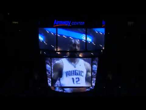Orlando Magic Game Day Intro at the Amway Center