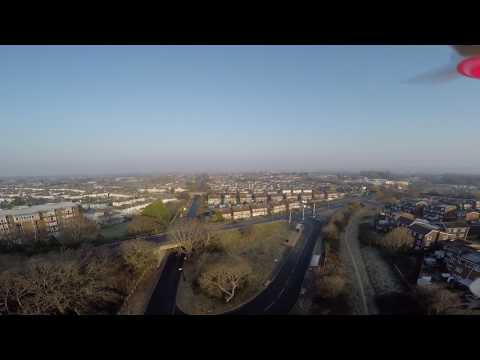 Flying Drone 1000ft  Above Gosport Uk