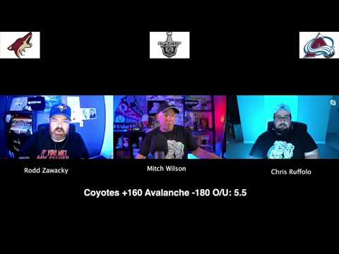 Colorado Avalanche vs Arizona Coyotes 8/17/20 NHL Pick and Prediction Stanley Cup Playoffs