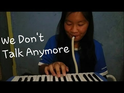 We Don't Talk Anymore - Charlie Puth Ft. Selena Gomez | Melodica Cover
