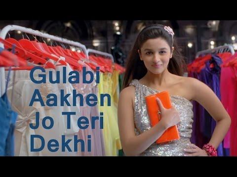 Gulabi aakhen (Female version)