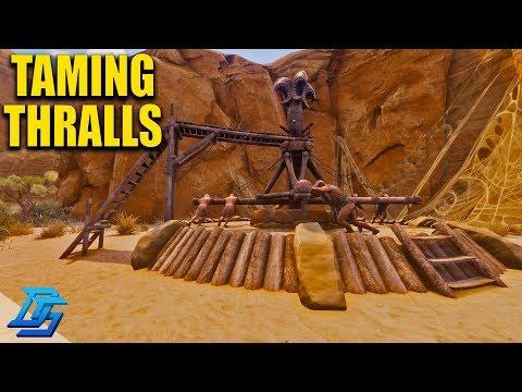 FIRST THRALL TAME, UNCUT STUPIDITY - Conan Exiles - Season 2 - Part 3 (Conan Exiles Gameplay)
