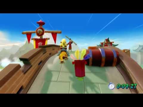 "Crash Bandicoot 3 N Sane Trilogy | Time Trial Lvl.3 ""Orient Express"" (0:17;72)"