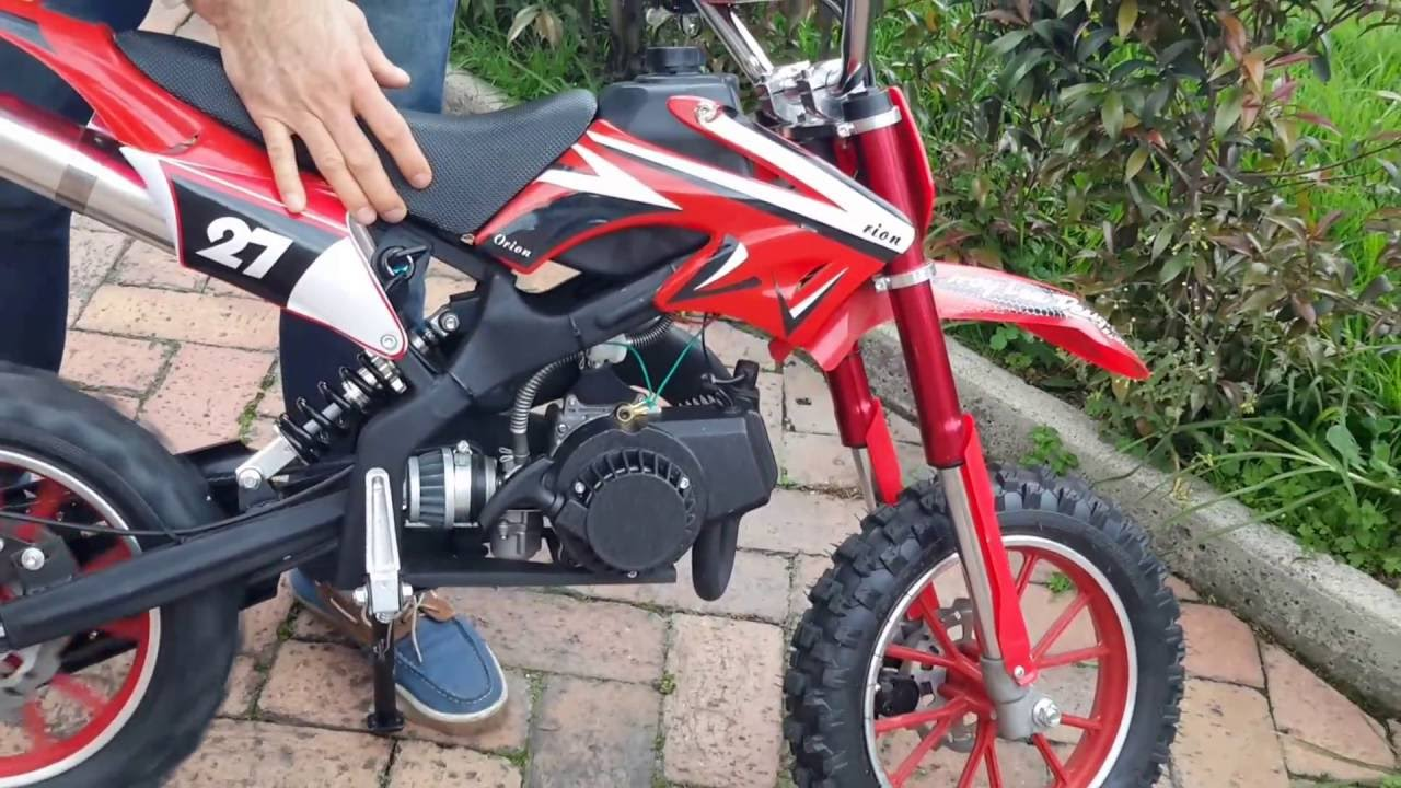 Encendiendo Prender La Mini Moto Crosss Gasolina 49 Cc En Bogota E Leite 50cc Honda Engine Diagram Mytiendaonline