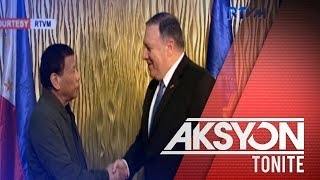 Pres. Duterte, nakipagpulong kay US Secretary of State Mike Pompeo