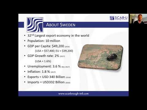 How is the economy in Sweden?